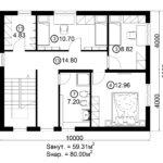 Двухэтажный дом 160/1-2 (2 этаж)