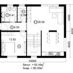 Двухэтажный дом 160/2-4 (1 этаж)